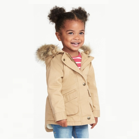 c95775f31 Old Navy Jackets & Coats   Hooded Field Jacket For Toddler Girls ...